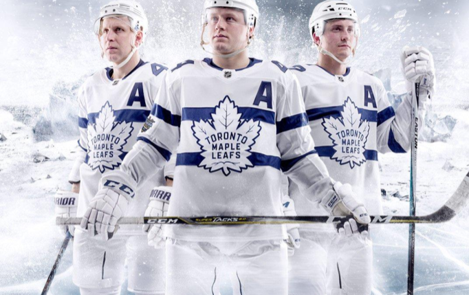 cf0bc4f6d Leafs reveal jerseys for upcoming Stadium Series game